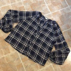Lovestitch cotton long sleeve shirt size large